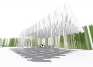 Selfie Park Pavilion Rendering